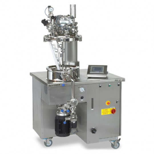 Laboratory homogenising mixer